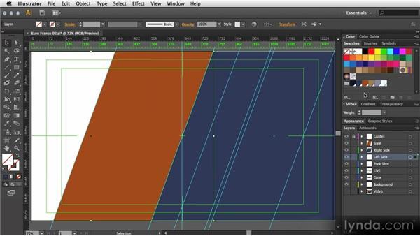 Layer-based design in Adobe Illustrator: After Effects Artist in Action: Eran Stern's Broadcast Design