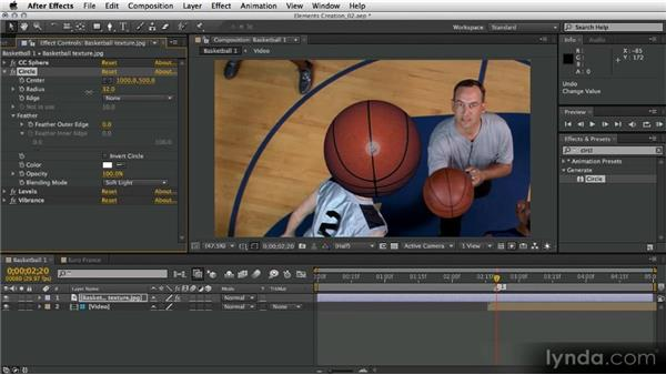 Matching color and texture: After Effects Artist in Action: Eran Stern's Broadcast Design