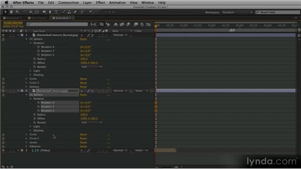 Generating another basketball version: After Effects Artist in Action: Eran Stern's Broadcast Design