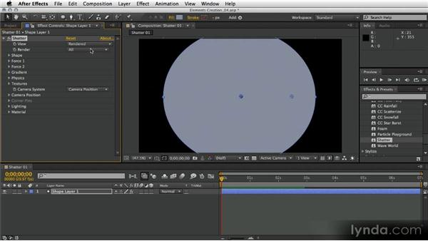 Creating a synthetic digital explosion: After Effects Artist in Action: Eran Stern's Broadcast Design
