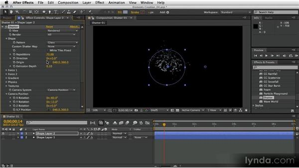 Creating a secondary explosion: After Effects Artist in Action: Eran Stern's Broadcast Design