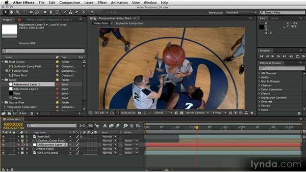 Shock-wave displacement: After Effects Artist in Action: Eran Stern's Broadcast Design