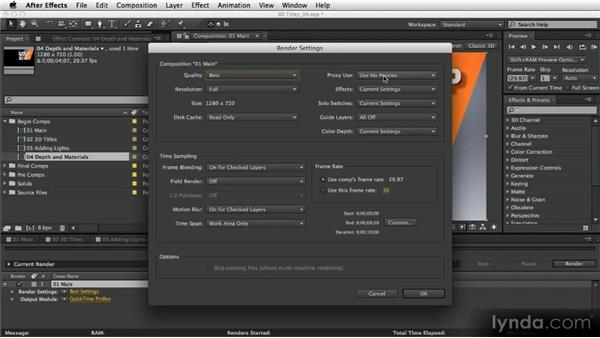 Final adjustments: After Effects Artist in Action: Eran Stern's Broadcast Design