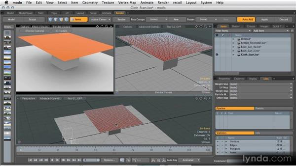 Using the included files: Modeling for Product Visualization in MODO