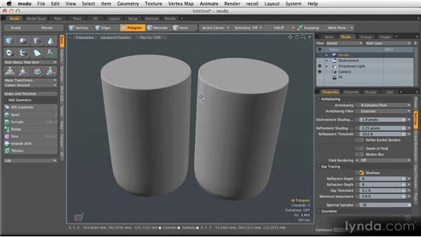 PSubs and SubDs: Modeling for Product Visualization in MODO