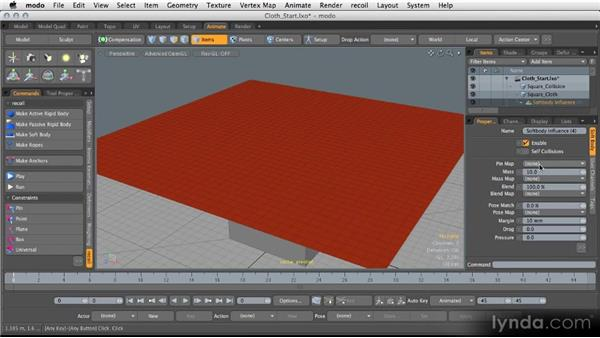 Modeling with recoil: Modeling for Product Visualization in MODO