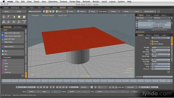 Advanced recoil: Modeling for Product Visualization in MODO