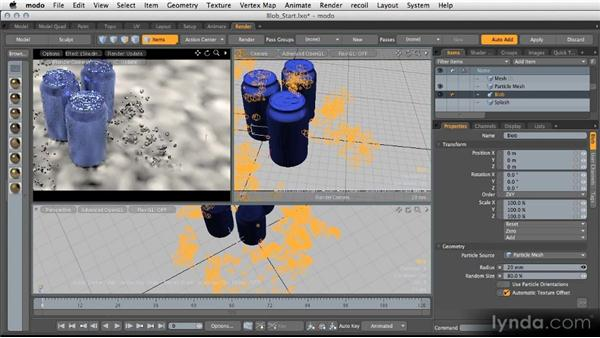 Using blobs: Modeling for Product Visualization in MODO