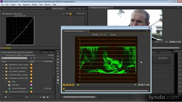 Introduction to special effects with Premiere Pro: Premiere Pro CS6 Effects Workshop
