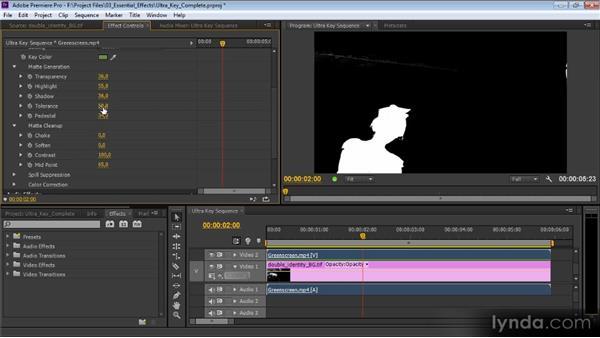 Ultra Key: Premiere Pro CS6 Effects Workshop