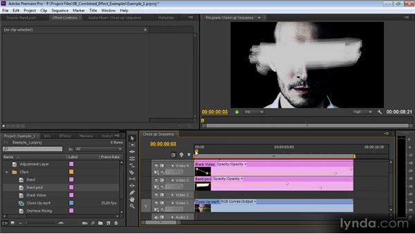 Example one: Premiere Pro CS6 Effects Workshop