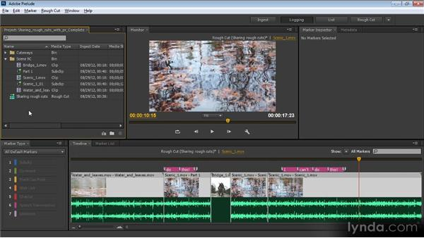 Sharing rough cuts with Premiere Pro: Video Production with Creative Suite 6