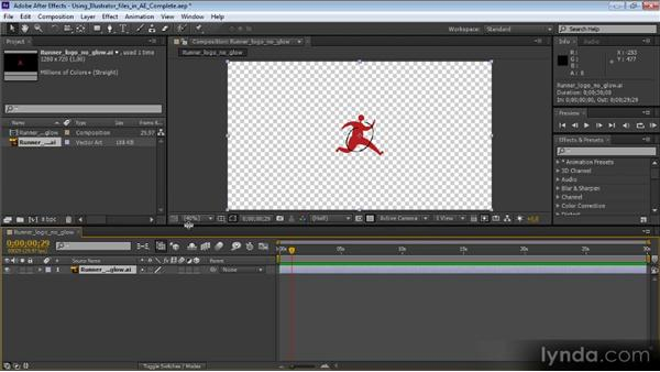 Using Illustrator files in After Effects: Video Production with Creative Suite 6