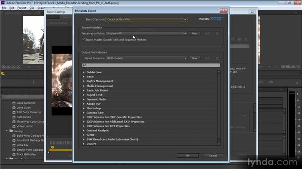 Sending work from Premiere Pro to the Media Encoder: Video Production with Creative Suite 6