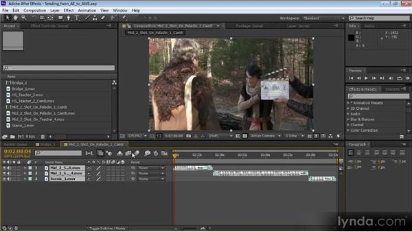Using the Media Encoder to output from After Effects: Video Production with Creative Suite 6
