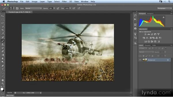A first look at the final image: Photoshop Artist in Action: Uli Staiger's Perestroika