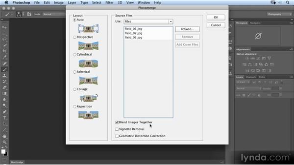 Creating the basic panoramic file: Photoshop Artist in Action: Uli Staiger's Perestroika