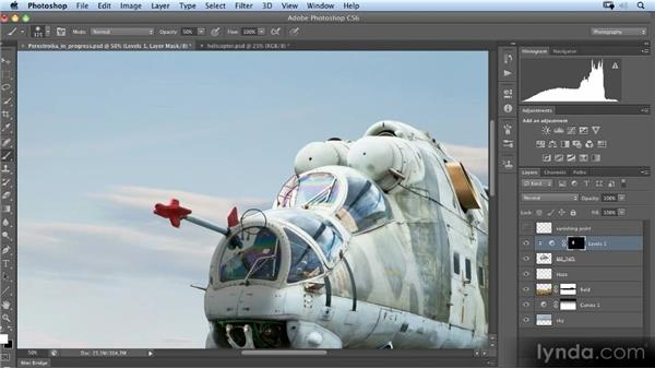Painting shadows: Photoshop Artist in Action: Uli Staiger's Perestroika