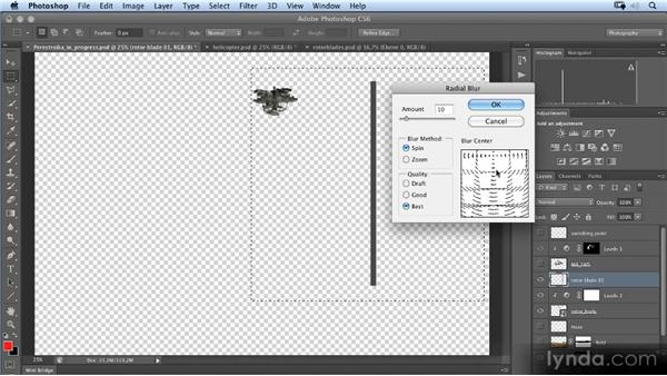 Creating the rotor blades (2D): Photoshop Artist in Action: Uli Staiger's Perestroika