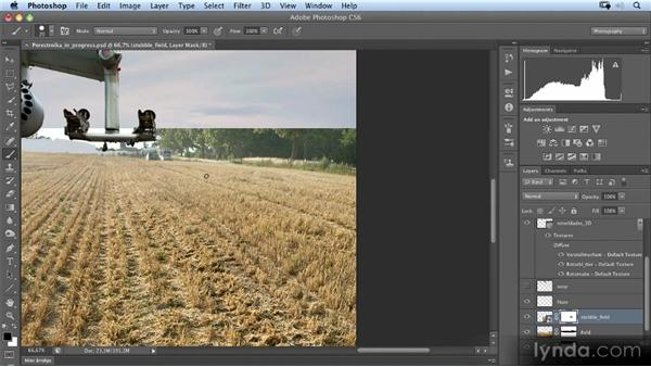 Importing the stubble field: Photoshop Artist in Action: Uli Staiger's Perestroika
