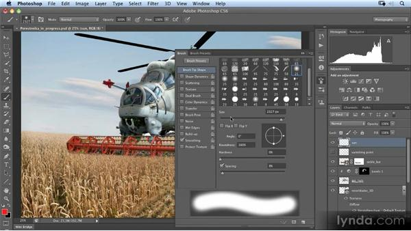 Painting the sun: Photoshop Artist in Action: Uli Staiger's Perestroika