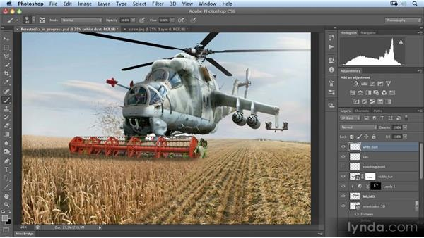Painting dust: Photoshop Artist in Action: Uli Staiger's Perestroika