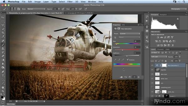 Creating a color look: Photoshop Artist in Action: Uli Staiger's Perestroika