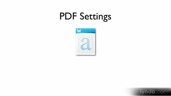 Understanding PDF settings: Building PDFs with Acrobat XI