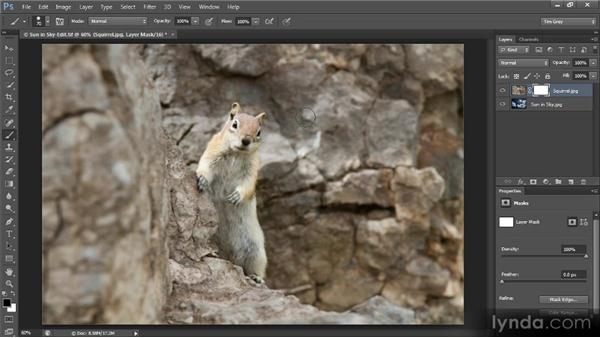 Introduction to layer masks: Creating Composites in Photoshop