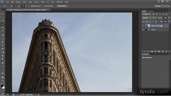 Inverting a mask: Creating Composites in Photoshop