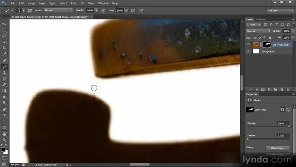 Mask cleanup: Creating Composites in Photoshop