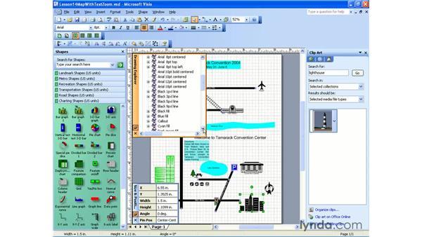the drawing explorer: Visio 2003 Essential Training