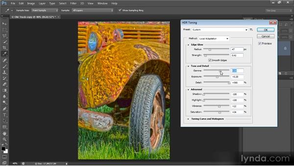 HDR tone mapping: Photoshop Creative Effects and Filters