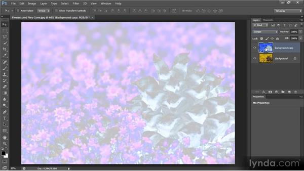 Playing with blend modes: Photoshop Creative Effects and Filters