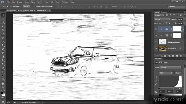 Creating a sketch effect: Photoshop Creative Effects and Filters