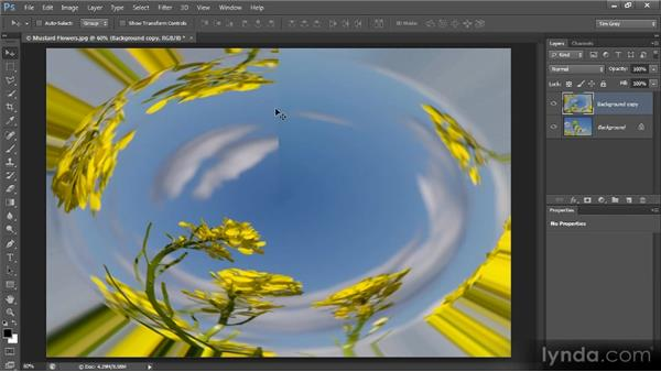 Going fish-eye with Polar Coordinates: Photoshop Creative Effects and Filters