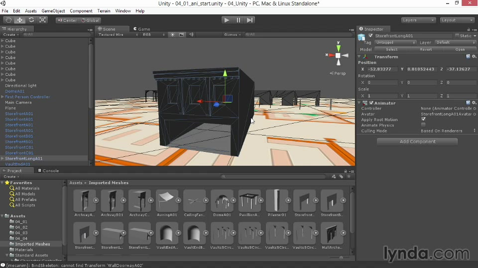 Creating animation in Unity   LinkedIn Learning, formerly