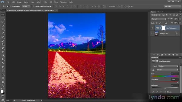 Evaluating with a saturation boost: Mastering Color Correction in Photoshop