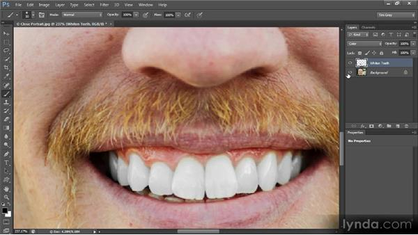 Whitening and brightening: Mastering Color Correction in Photoshop