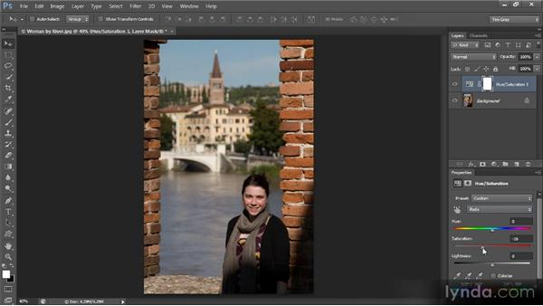 Toning down color in skin: Mastering Color Correction in Photoshop