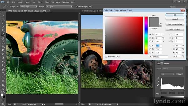 Matching color between images: Mastering Color Correction in Photoshop