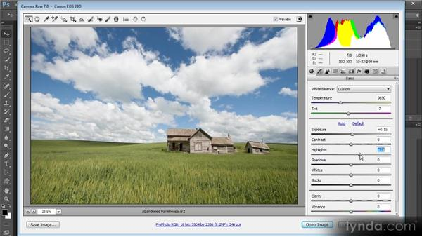 Basic adjustments: Photoshop Artist in Action: Tim Grey's Abandoned Farmhouse