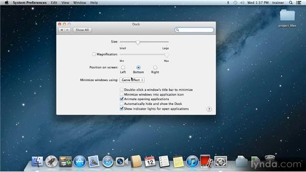The Dock: Up and Running with Mac OS X Mountain Lion