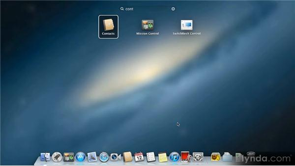 Launchpad: Up and Running with Mac OS X Mountain Lion