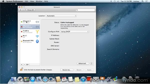 Connecting to the Internet: Up and Running with Mac OS X Mountain Lion