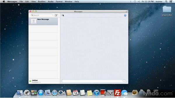 Messages: Up and Running with Mac OS X Mountain Lion