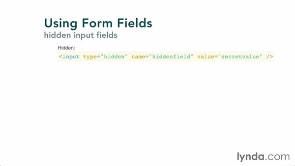 Working with form fields: Validating and Processing Forms with JavaScript and PHP