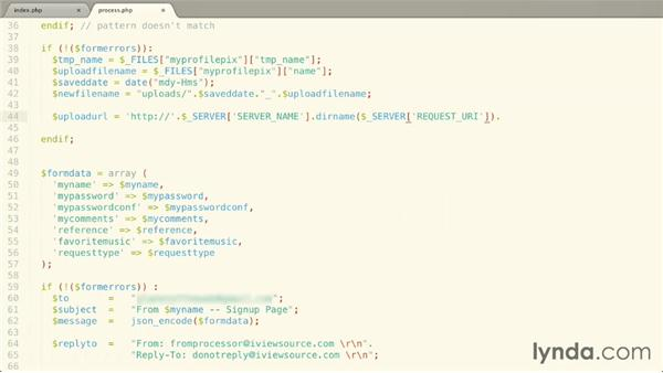 : Validating and Processing Forms with JavaScript and PHP