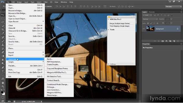 Tone mapping a single image: Up and Running with HDR Efex Pro 2.0