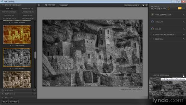 Getting a closer look: Up and Running with HDR Efex Pro 2.0